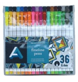ART ALTERNATIVES ART ALTERNATIVES FINELINE PEN SET/36