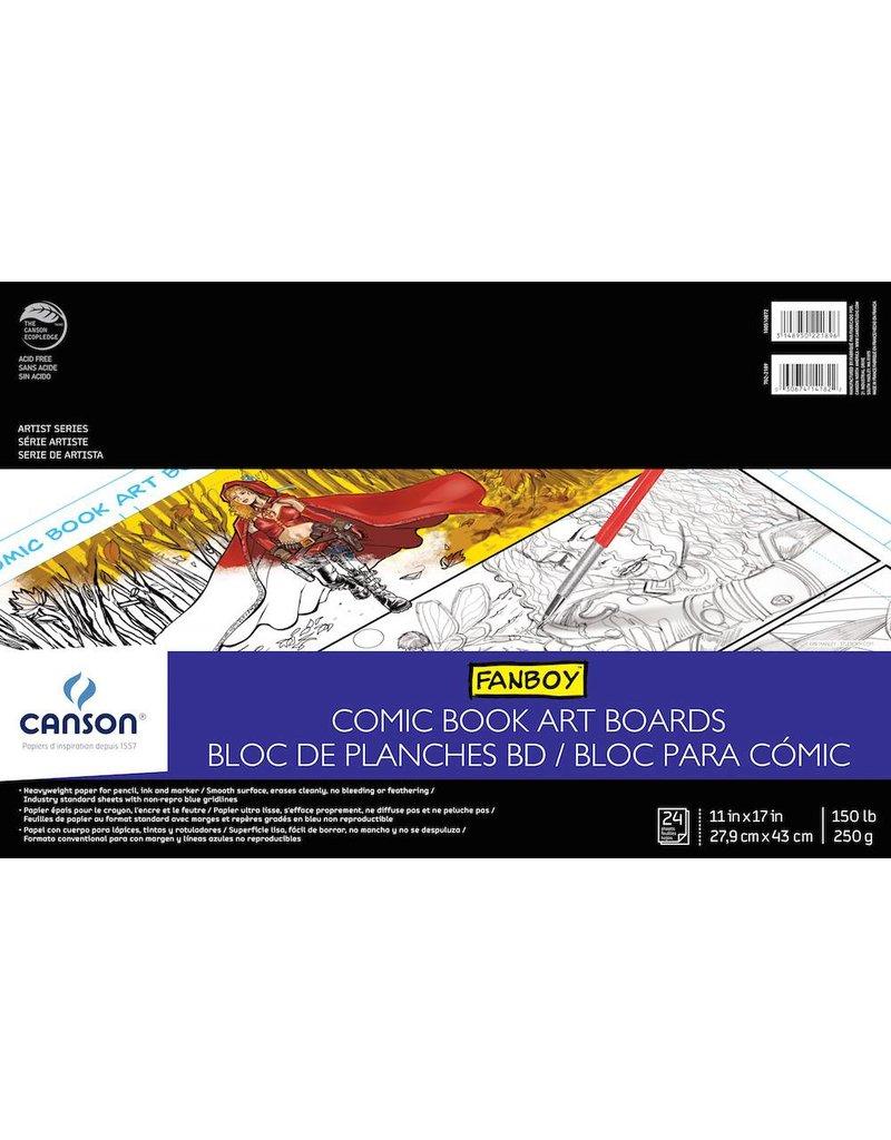 CANSON CANSON ARTIST SERIES COMIC BOOK ART BOARDS 11X17 150LB  24/SHT    CAN-100510872