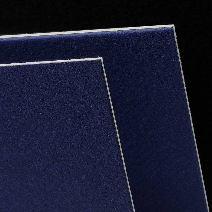 CANSON MI-TEINTES ART BOARD 140 INDIGO BLUE 16X20    CAN-100510134