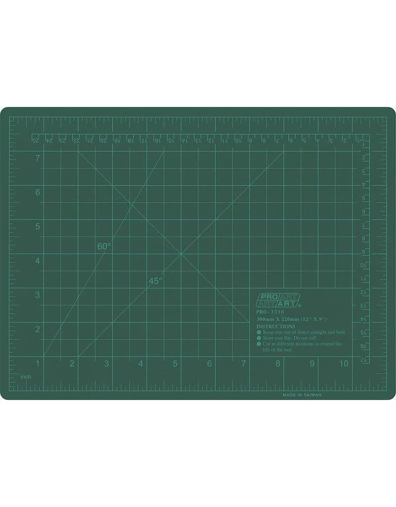 PRO ART PRO ART CUTTING MAT GREEN 18X24