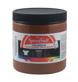 SPEEDBALL INC SPEEDBALL FABRIC SCREEN PRINTING INK BROWN 8OZ