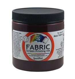 SPEEDBALL INC SPEEDBALL FABRIC SCREEN PRINTING INK BURGUNDY 8OZ