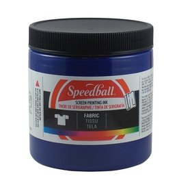 SPEEDBALL INC SPEEDBALL FABRIC SCREEN PRINTING INK PROCESS CYAN 8OZ