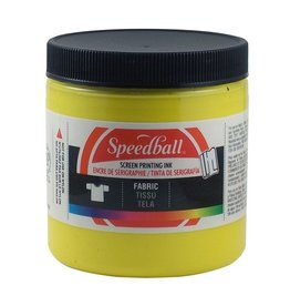 SPEEDBALL INC SPEEDBALL FABRIC SCREEN PRINTING INK PROCESS YELLOW 8OZ
