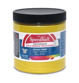 SPEEDBALL INC SPEEDBALL OPAQUE FABRIC SCREEN PRINTING INK CITRINE 8OZ
