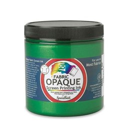 SPEEDBALL INC SPEEDBALL OPAQUE FABRIC SCREEN PRINTING INK EMERALD 8OZ