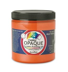 SPEEDBALL INC SPEEDBALL OPAQUE FABRIC SCREEN PRINTING INK SHERBET 8OZ