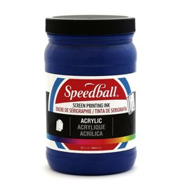 SPEEDBALL INC SPEEDBALL FABRIC SCREEN PRINTING INK PROCESS CYAN 32OZ