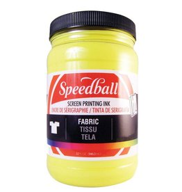 SPEEDBALL INC SPEEDBALL FABRIC SCREEN PRINTING INK PROCESS YELLOW 32OZ