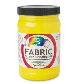 SPEEDBALL INC SPEEDBALL FABRIC SCREEN PRINTING INK YELLOW 32OZ