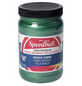 SPEEDBALL INC SPEEDBALL OPAQUE FABRIC SCREEN PRINTING INK EMERALD 32OZ