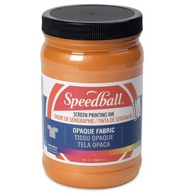 SPEEDBALL INC SPEEDBALL OPAQUE FABRIC SCREEN PRINTING INK SHERBET 32OZ