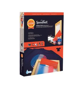 SPEEDBALL INC SPEEDBALL OPAQUE FABRIC SCREEN PRINTING KIT SUPER VALUE