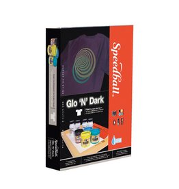 SPEEDBALL INC SPEEDBALL GLO N DARK FABRIC SCREEN PRINTING KIT