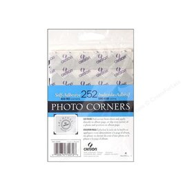 CANSON CANSON PHOTO CORNERS SELF-ADHESIVE SILVER 252/PK    CAN-100510405