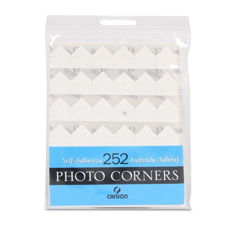 CANSON CANSON PHOTO CORNERS SELF-ADHESIVE IVORY 252/PK    CAN-100510403