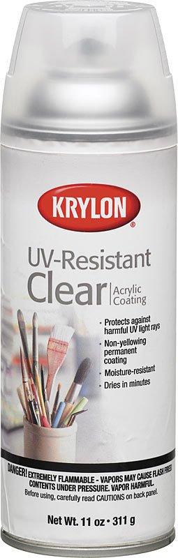 KRYLON KRYLON UV RESISTANT CLEAR GLOSS 11OZ    1305