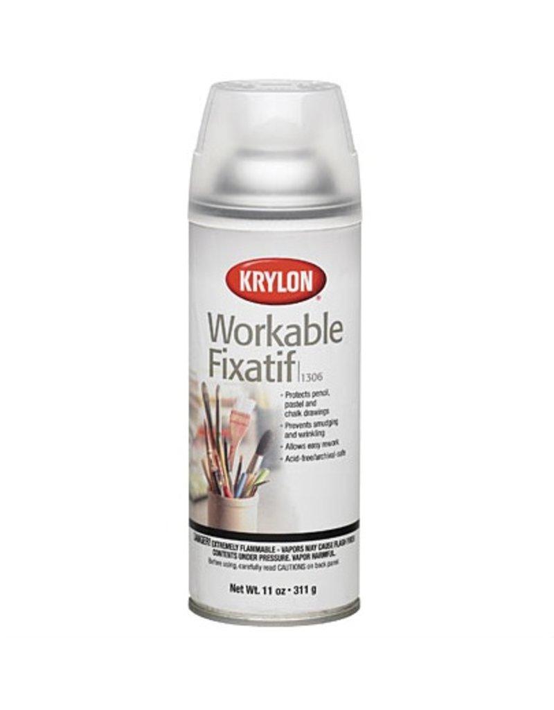 KRYLON KRYLON WORKABLE FIXATIF 11OZ    1306