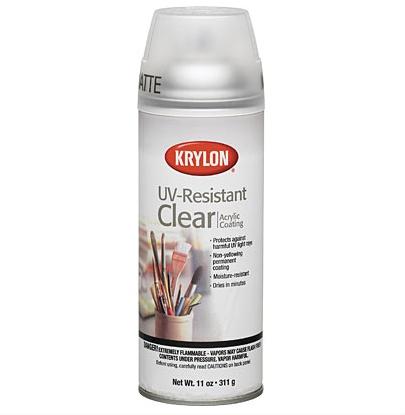 KRYLON KRYLON UV RESISTANT CLEAR MATTE 11OZ    1309