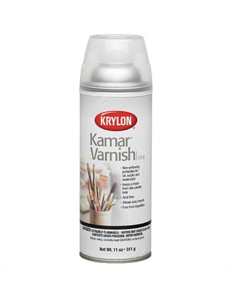 KRYLON KRYLON KAMAR VARNISH SPRAY 11OZ    1312