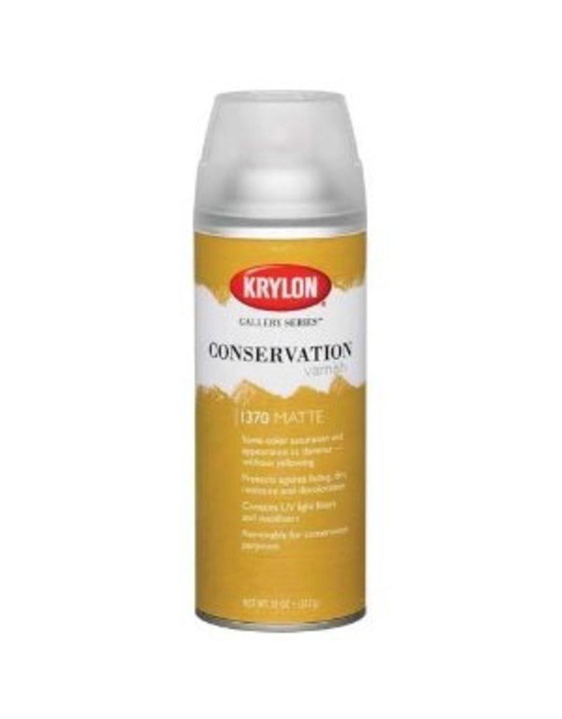 KRYLON KRYLON CONSERVATION VARNISH GLOSS 11OZ    1371