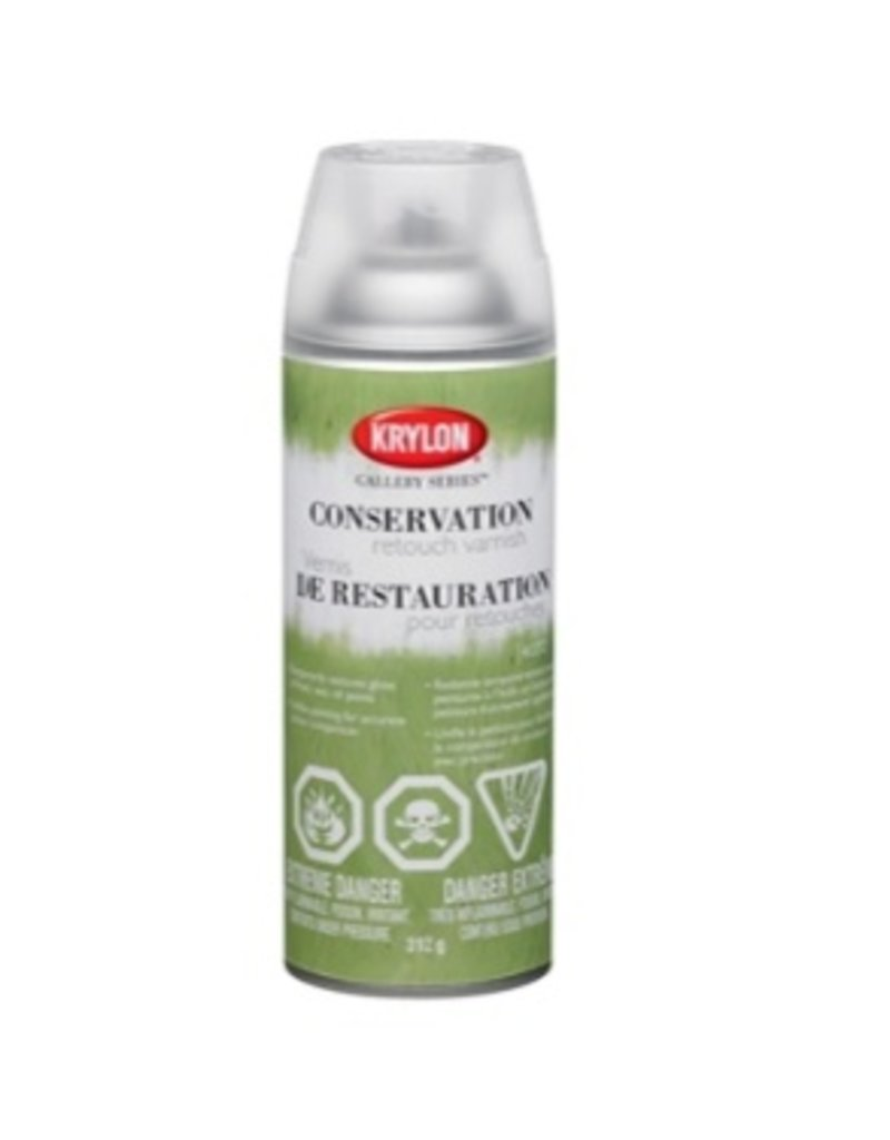 KRYLON KRYLON CONSERVATION RETOUCH VARNISH 11OZ    1372
