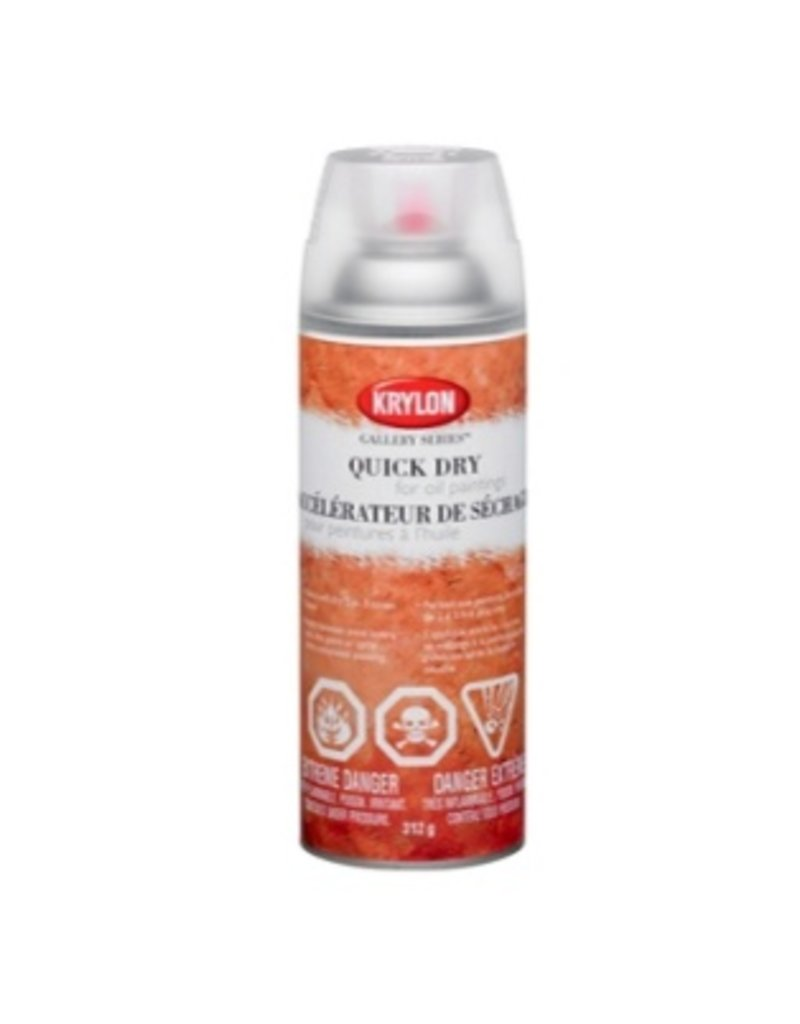 KRYLON KRYLON QUICK DRY FOR OIL PAINTING 11OZ    1373