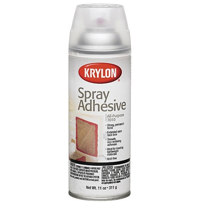 KRYLON KRYLON SPRAY ADHESIVE 11OZ    7010