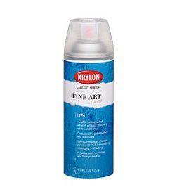KRYLON KRYLON FINE ART FIXATIF 11OZ    1374