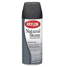 KRYLON KRYLON NATURAL STONE SPRAY CHARCOAL 12OZ