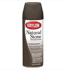KRYLON KRYLON NATURAL STONE SPRAY COBBLESTONE 12OZ