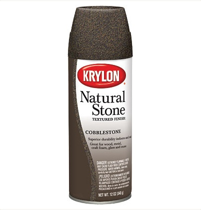 KRYLON KRYLON NATURAL STONE SPRAY COBBLESTONE 12OZ