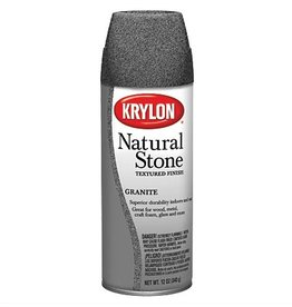 KRYLON KRYLON NATURAL STONE SPRAY GRANITE 12OZ