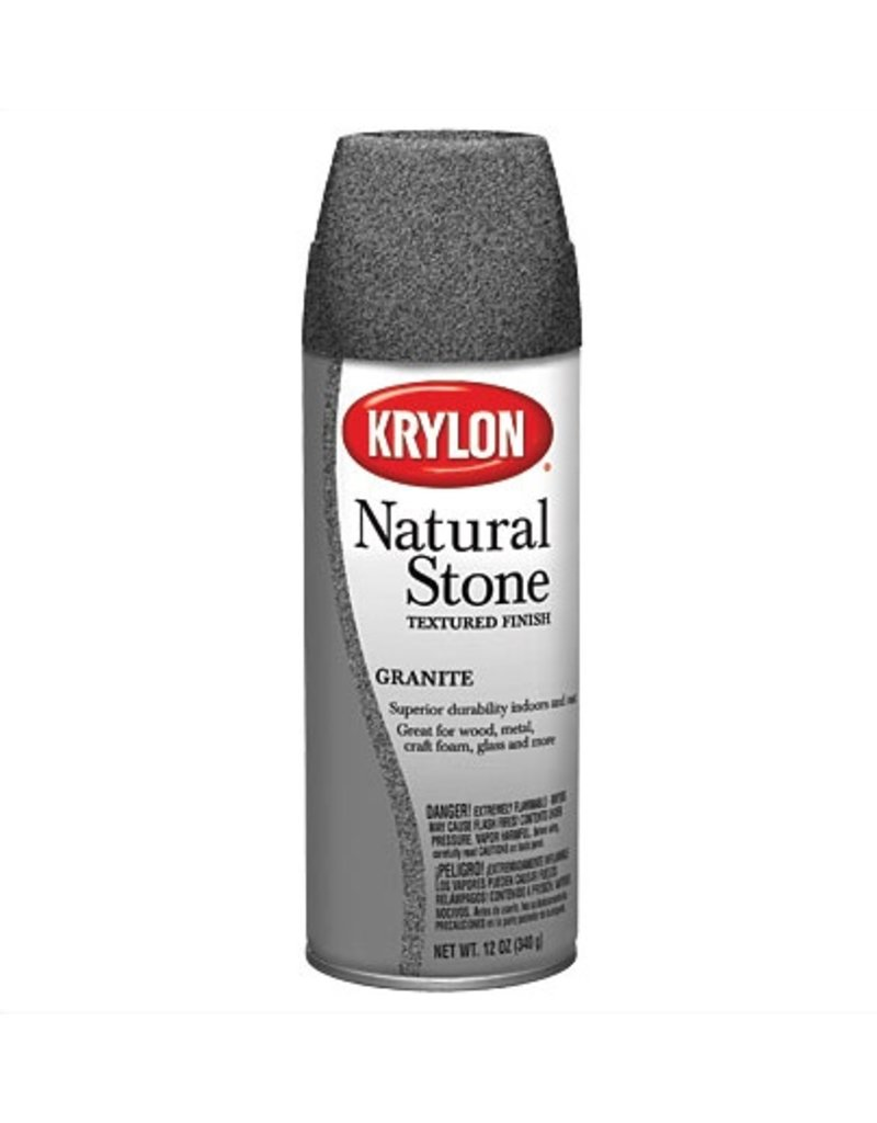 KRYLON KRYLON NATURAL STONE SPRAY GRANITE 12OZ