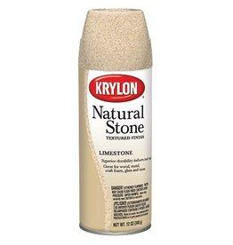 KRYLON KRYLON NATURAL STONE SPRAY LIMESTONE 12OZ