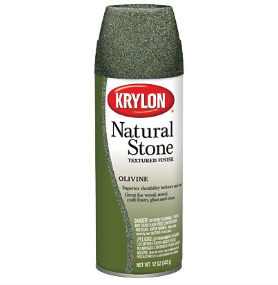 KRYLON KRYLON NATURAL STONE SPRAY OLIVINE 12OZ
