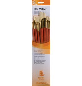 PRINCETON PRINCETON REALVALUE BRUSH SET NO. 9154 LH NATURAL BRISTLE