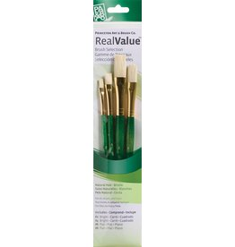 PRINCETON PRINCETON REALVALUE BRUSH SET NO. 9112 SH NATURAL BRISTLE