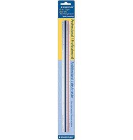 STAEDTLER STAEDTLER TRIANGULAR SCALE RULER    987 18-ISO BK