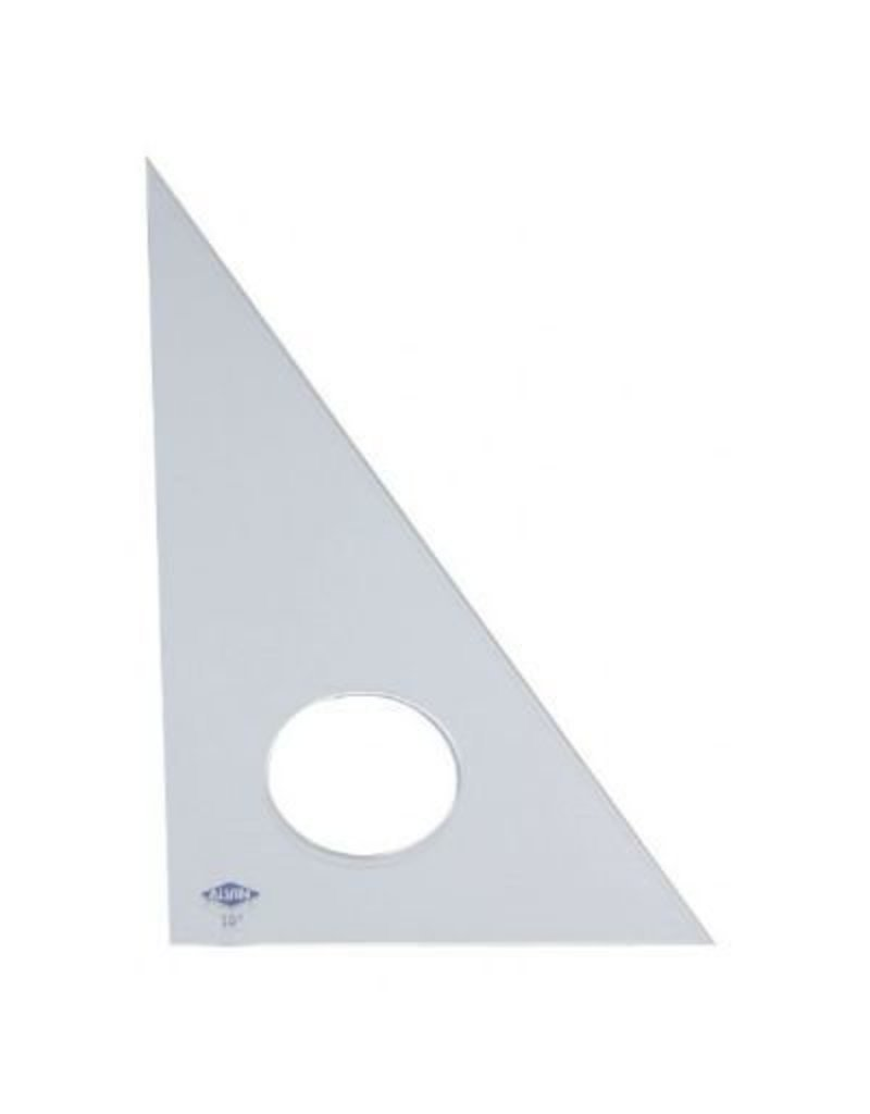 ALVIN ALVIN TRIANGLE 30/60 16 INCH CLEAR