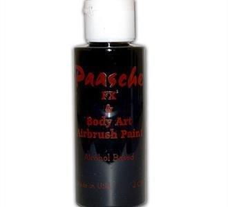 PAASCHE PAASCHE TEMPORARY TATTOO PAINT BLACK 1OZ