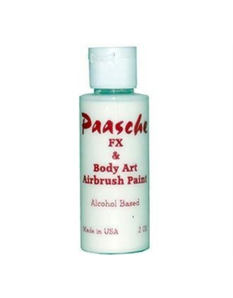 PAASCHE PAASCHE TEMPORARY TATTOO PAINT WHITE 1OZ