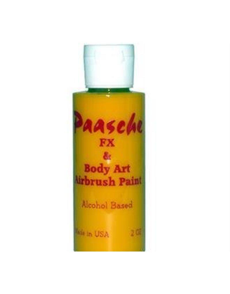 PAASCHE PAASCHE TEMPORARY TATTOO PAINT YELLOW 1OZ