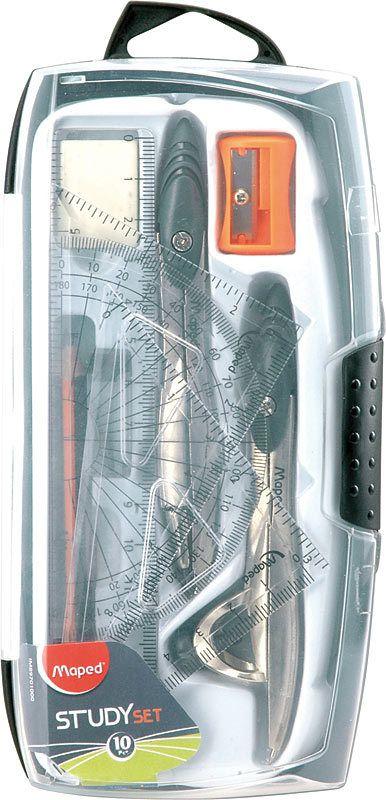 MAPED MAPED GEOMETRY STUDY SET 10 PC