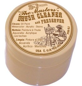 GENERAL PENCIL THE MASTERS BRUSH CLEANER AND PRESERVER 1OZ    GEN-100-BJ