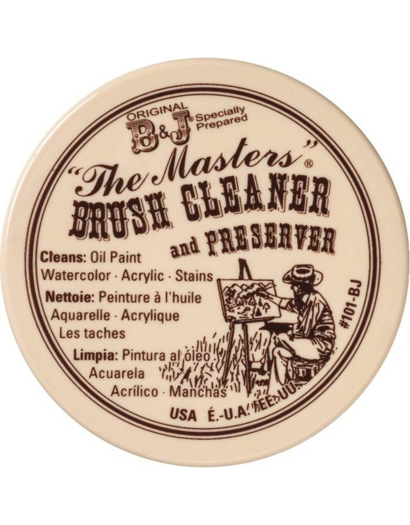 GENERAL PENCIL THE MASTERS BRUSH CLEANER AND PRESERVER 2.5OZ  CARDED    GEN-105BP