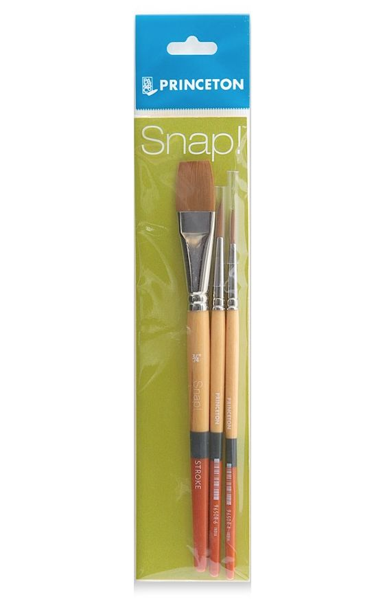 PRINCETON PRINCETON SNAP BRUSH SET SH GOLD TAKLON    9650 SET-2