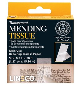 "LINECO LINECO TRANSPARENT MENDING TISSUE 1/2""X5'    L533-0017"