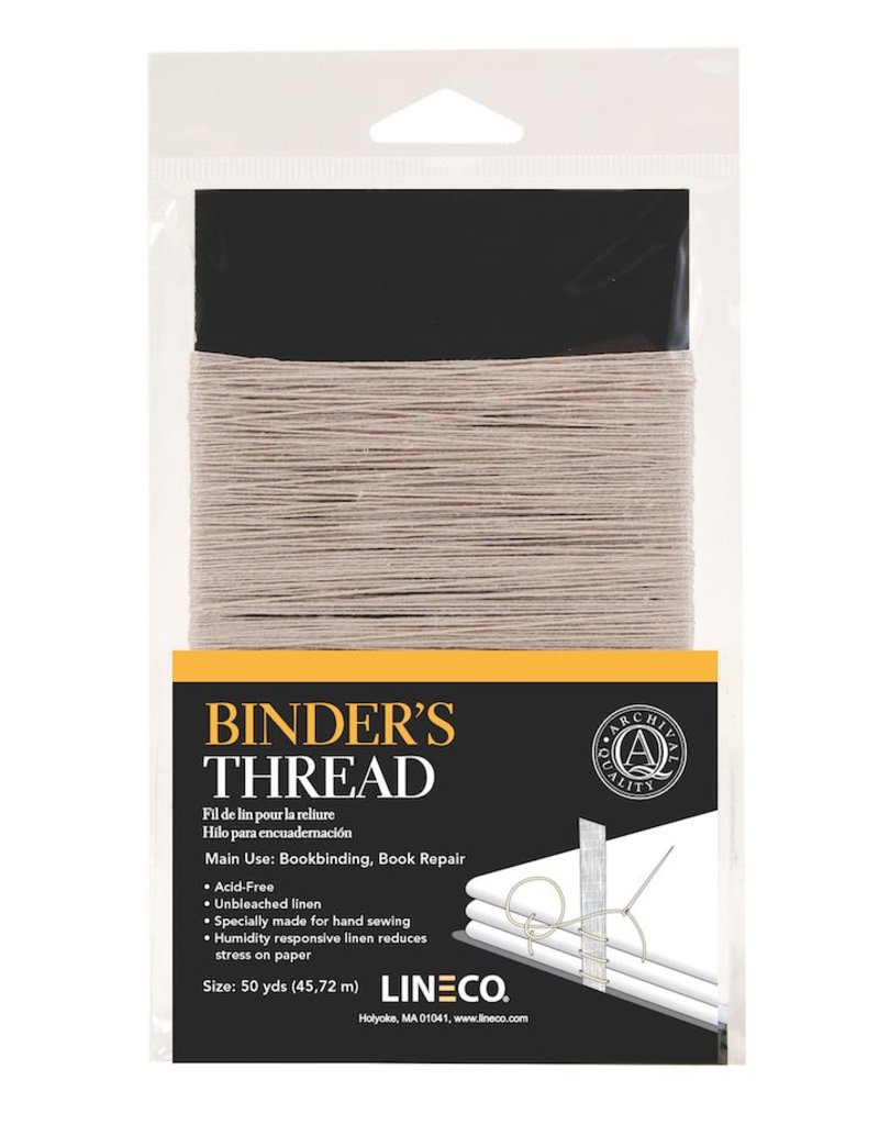 LINECO LINECO BINDER'S THREAD 50YD    402-0050