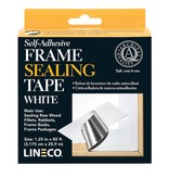 LINECO LINECO SELF ADHESIVE FRAME SEALING TAPE WHITE 1.25''X85'    L387-0152